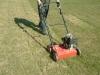 Vyčesávání trávníku